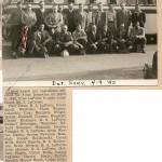 Entered service April 9, 1945