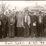 Entered service February 25, 1943 - Names Unknown