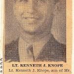 Lt. Kenneth J. Knope