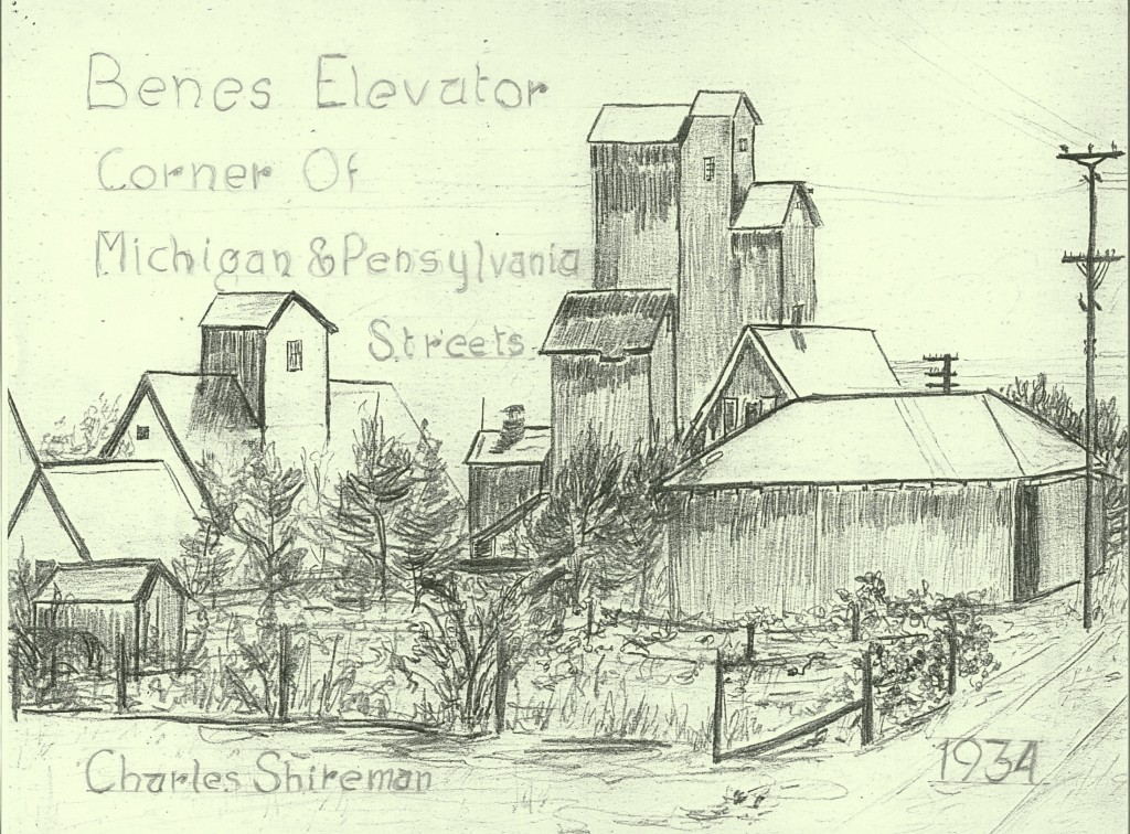 Benes Elevator - by Charles Shireman