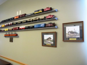 Train display from Dr. Paul Koch
